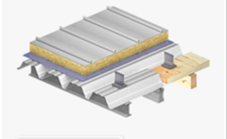 Picture for category Double Sheet Roof with Seam or Clamping Profiles