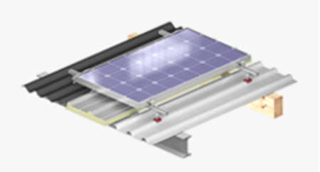 Picture for category Mounting systems for solar systems