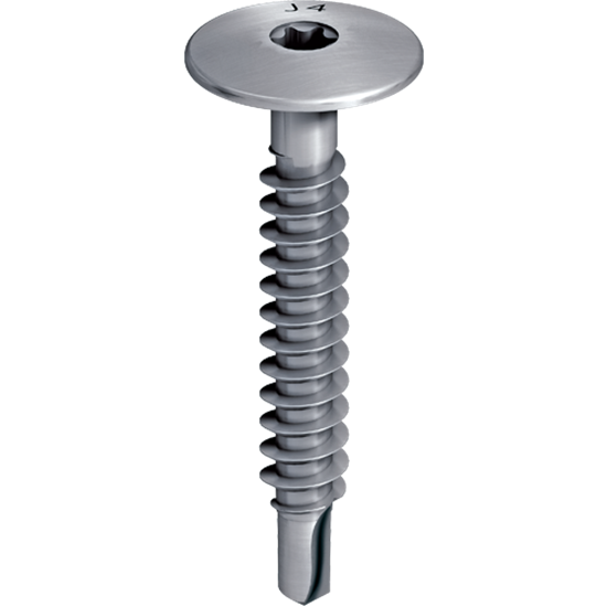 Picture of EJOT® stainless steel SAPHIR self-drilling screw  JT4-LT-2/6-6.0x50