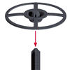 Picture of EJOT®  Insulation support anchor DH - 2 Piece