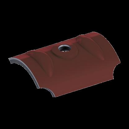 Slika od EJOT® Krovni Jahač trapez RAL VAW crveno – braon